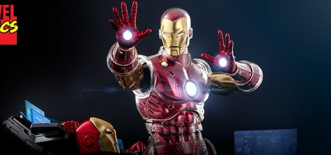 First Look | Hot Toys Iron Man (Marvel Comics)