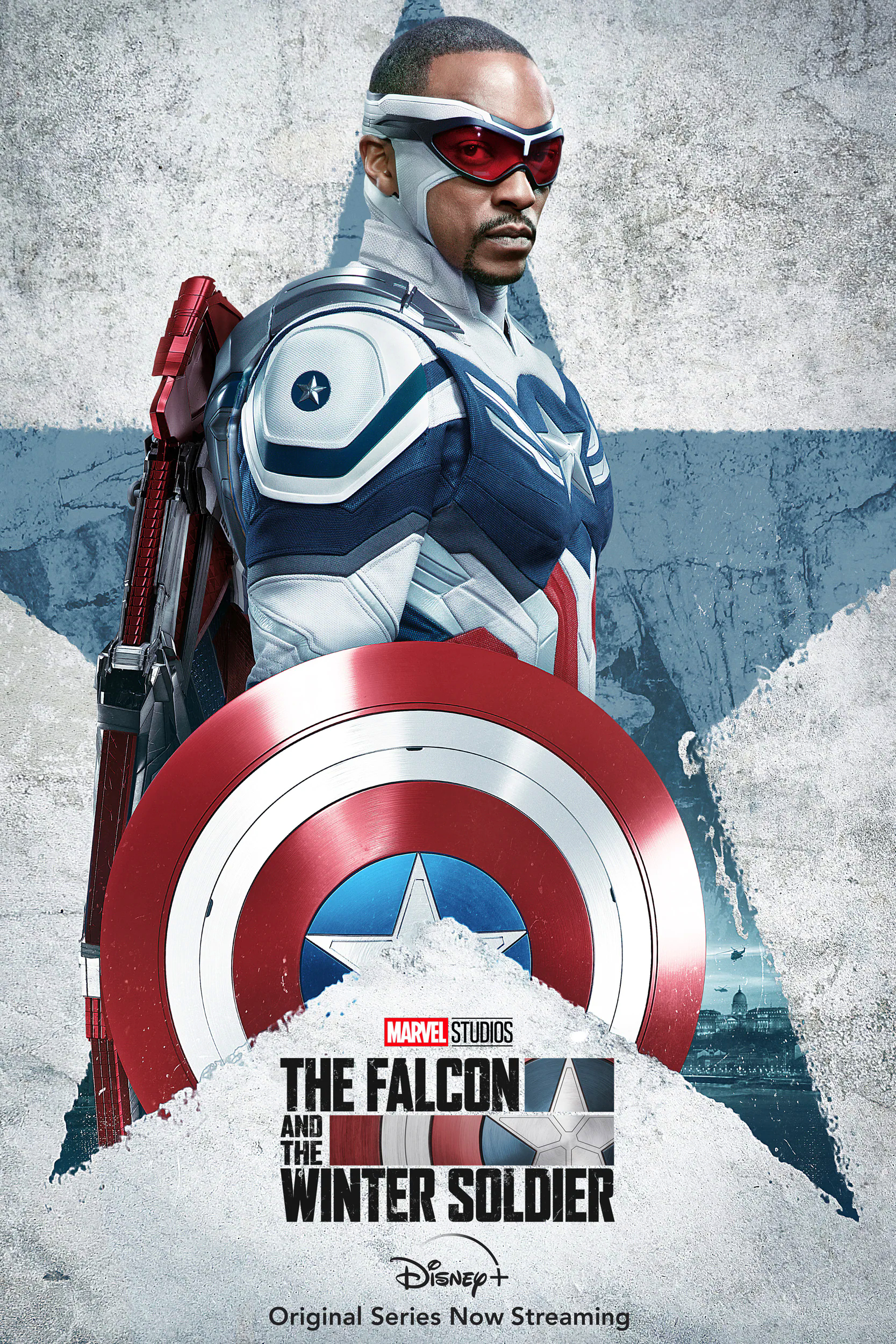 Falcon And The Winter Soldier Captain America/Sam Wilson Poster