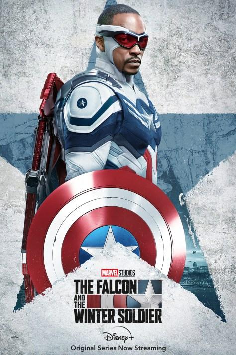 Falcon And The Winter Soldier Captain America/Sam Wilson Poster