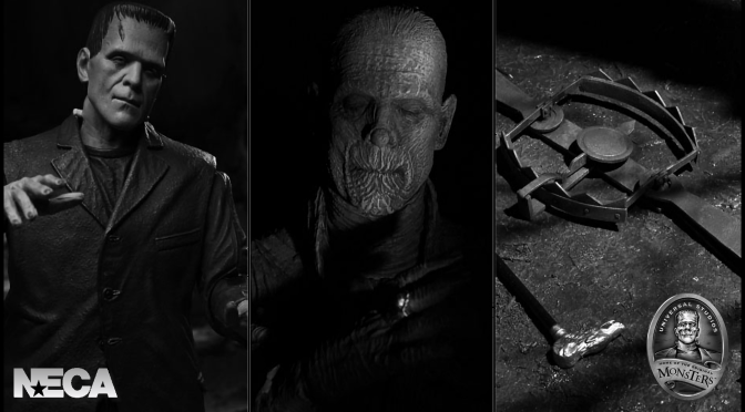 NECA Announces Universal Monsters Licence