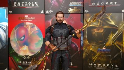 Captain America Hot Toys (Avengers Infinity War)
