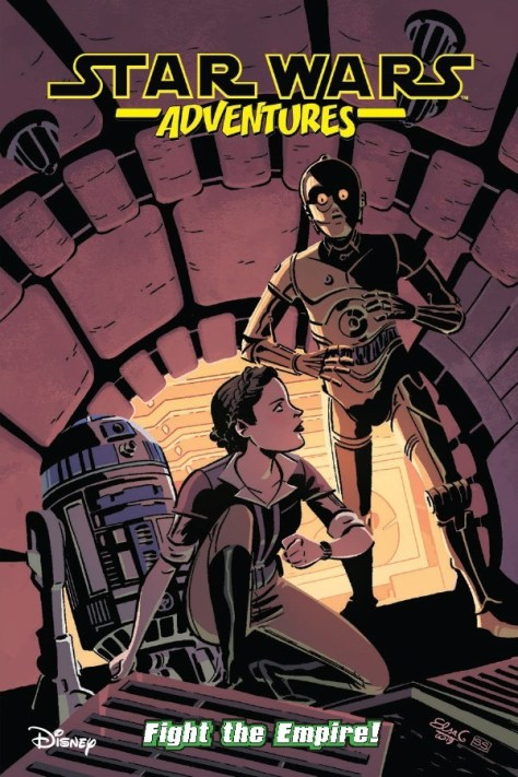 Star Wars Adventures Fight The Empire