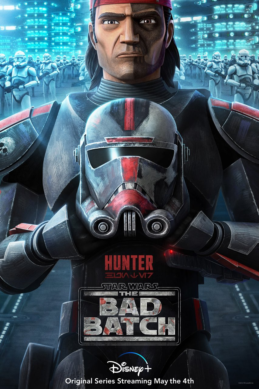 The Bad Batch - Hunter Character Poster