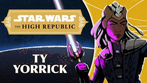 Ty Yorrick | Characters of Star Wars: The High Republic