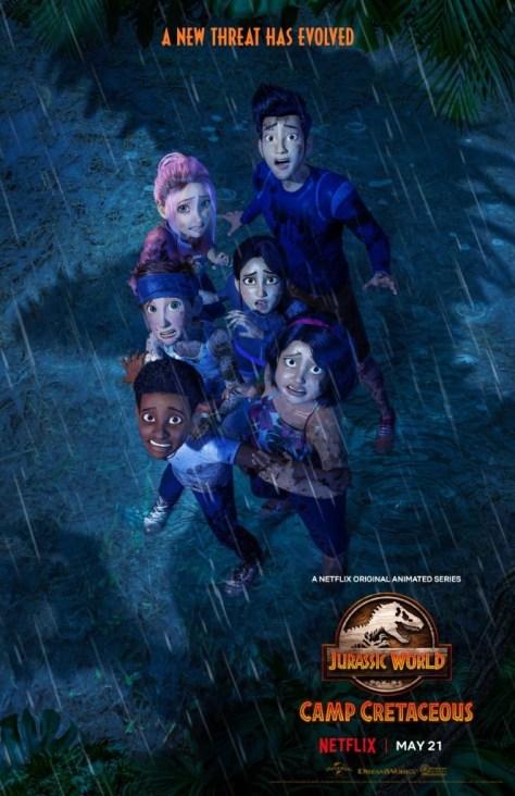 Jurassic World Camp Cretaceous Season 3 Poster