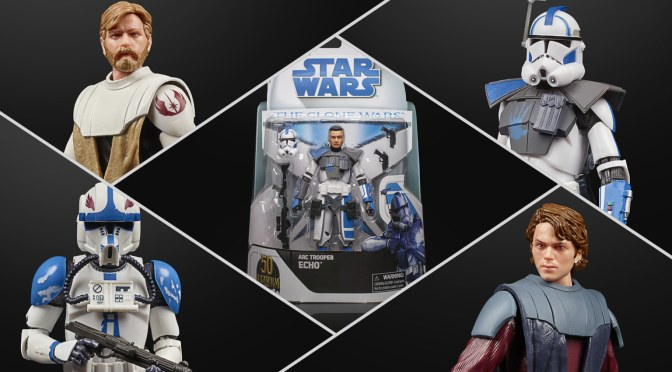 First Look | The Black Series New Clone Wars Figures Revealed!