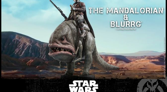 First Look | Hot Toys The Mandalorian & Blurrg