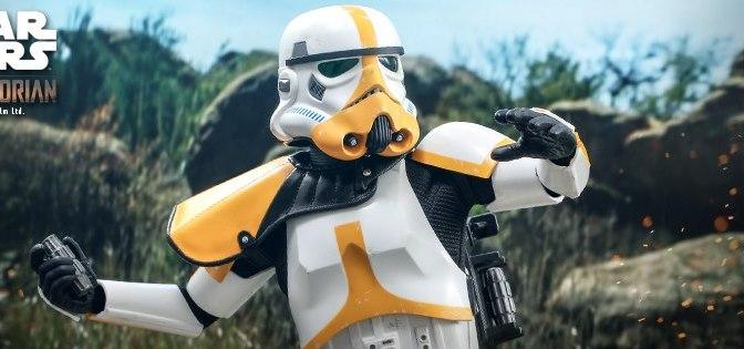 First Look | Hot Toys Artillery Stormtrooper (The Mandalorian)