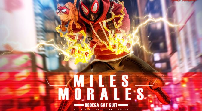 First Look | Hot Toys Miles Morales (Bodega Cat Suit)