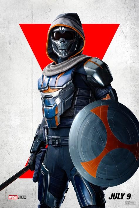 Taskmaster Character Poster