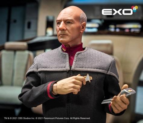 EXO-6 Captain Jean-Luc Picard Figure