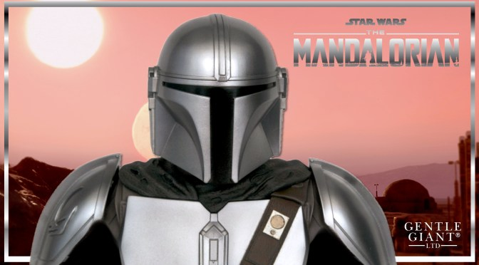 Gentle Giant | The Mandalorian (Beskar Armor) Bust