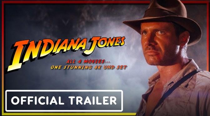 Indiana Jones Collection 4K UHD Boxset Trailer