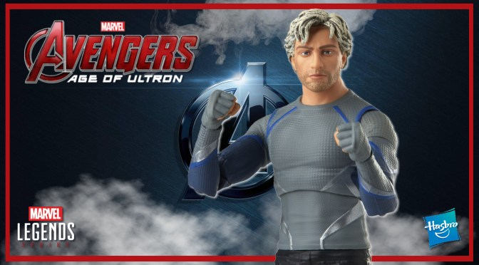 Marvel Legends | Quicksilver (Avengers: Age Of Ultron) Infinity Saga