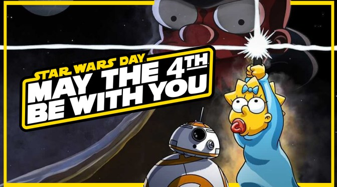 May The 4th | 'The Force Awakens From Its Nap' Simpsons Short And Interactive Events