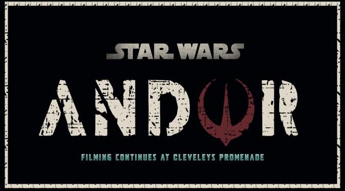 Star Wars: Andor | Filming Continues At Cleveleys Promenade