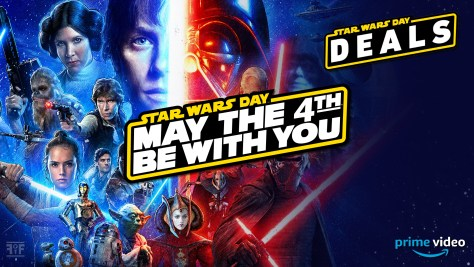 May The 4th | Star Wars Day Deals on Prime Video