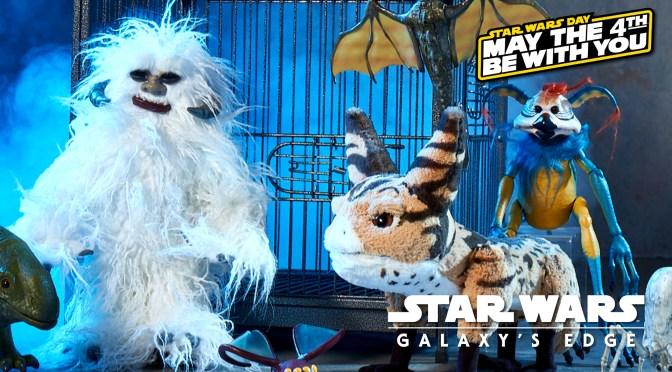 May The 4th | The Star Wars: Galaxy's Edge Creatures Have Arrived!