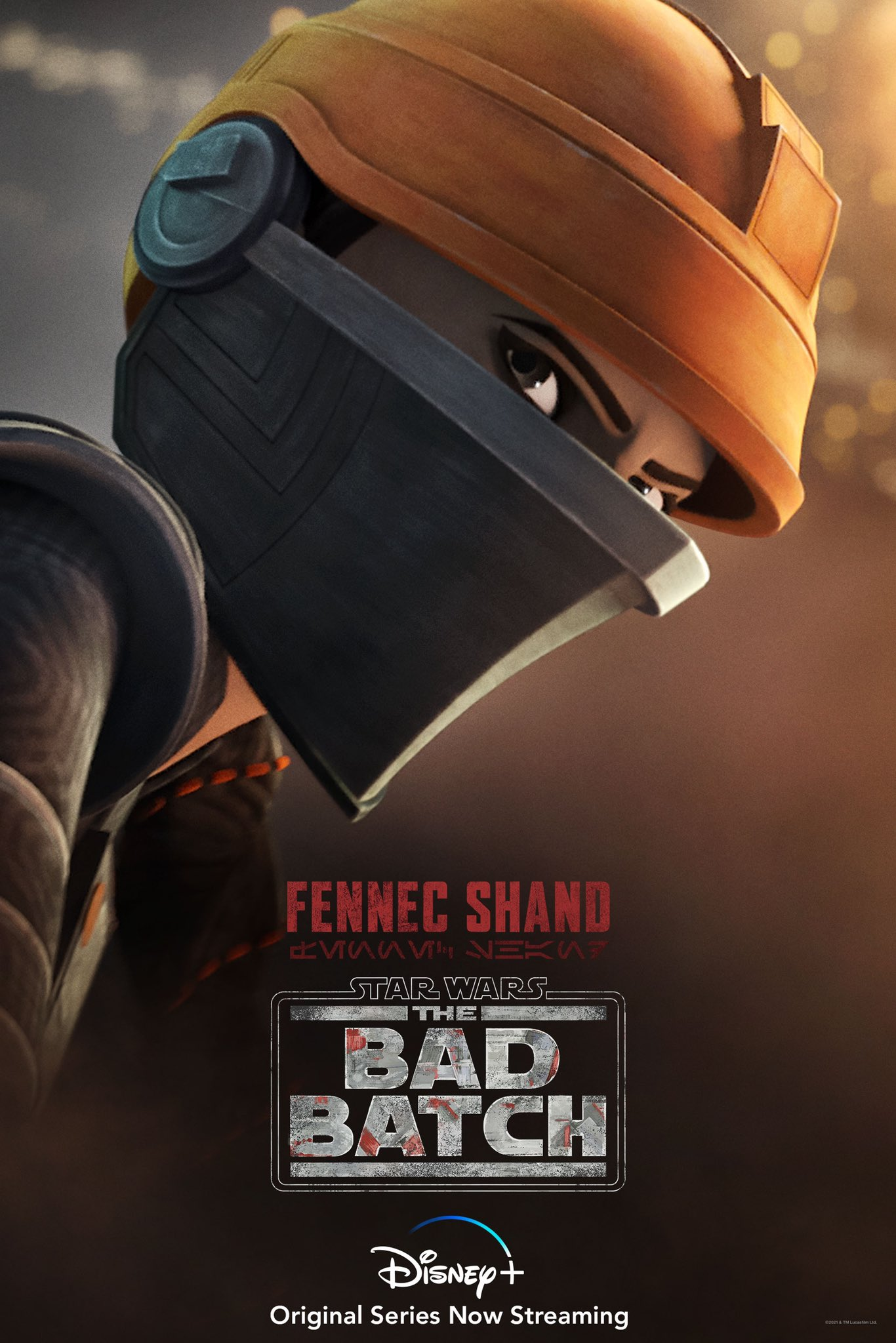 Fennec Shand The Bad Batch Character Poster