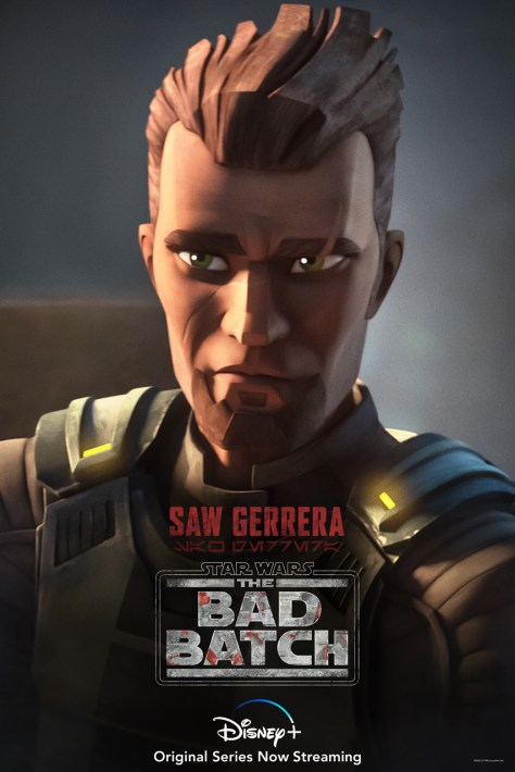 Saw Gerrera Bad Batch Character Poster