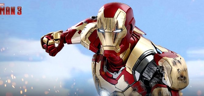 First Look | Hot Toys Iron Man XLII (1/4th Scale)
