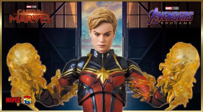 First Look | Captain Marvel MAFEX (Avengers Endgame)