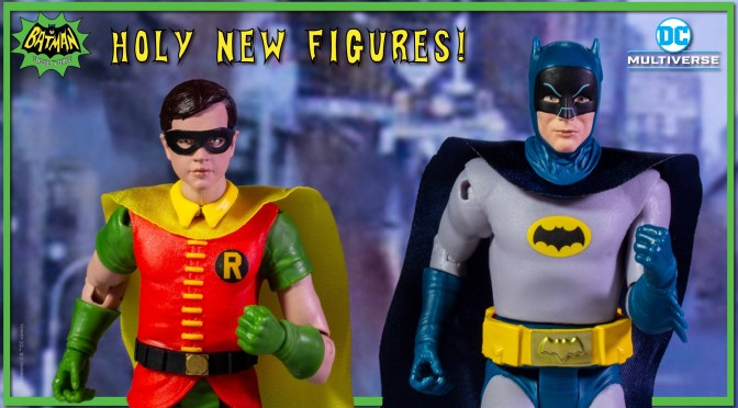 Holy DC Multiverse | New Batman The Classic Series Retro Figures Revealed!