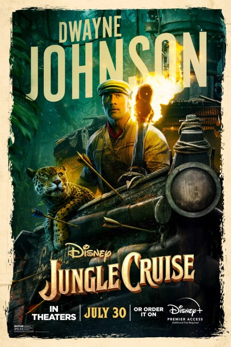 Dwayne Johnson Jungle Cruise Poster