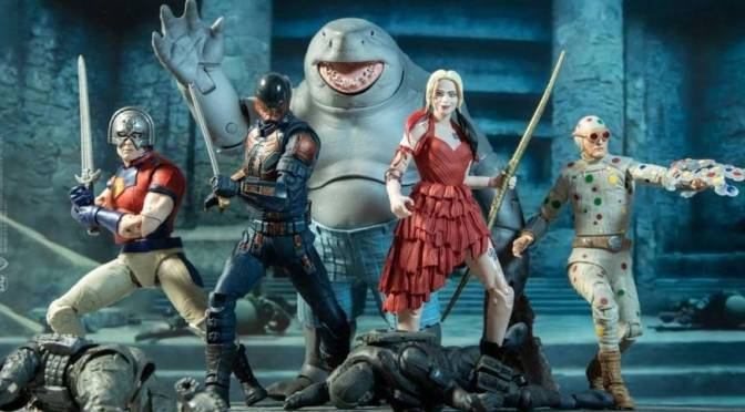 First Look | The Suicide Squad (DC Multiverse) First Wave Revealed!