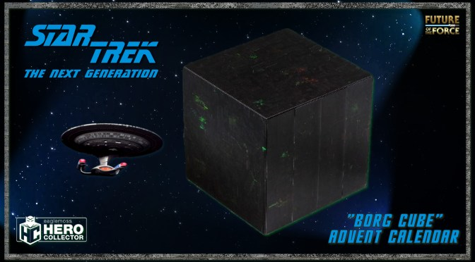 Christmas Won't Be Futile With The Star Trek Borg Cube Advent Calendar!
