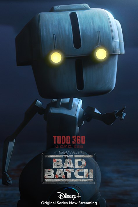 The Bad Batch - Todo 360 Character Poster