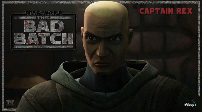 The Bad Batch | Captain Rex Character Poster