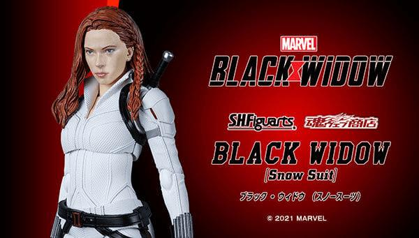 First Look | S.H. Figuarts Black Widow (Snow Suit)