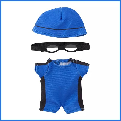 Disney Store nuiMOs Small Soft Toy Swimmer Outfit Set