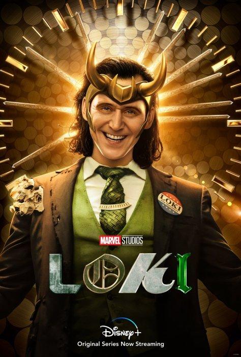 President Loki Character Poster