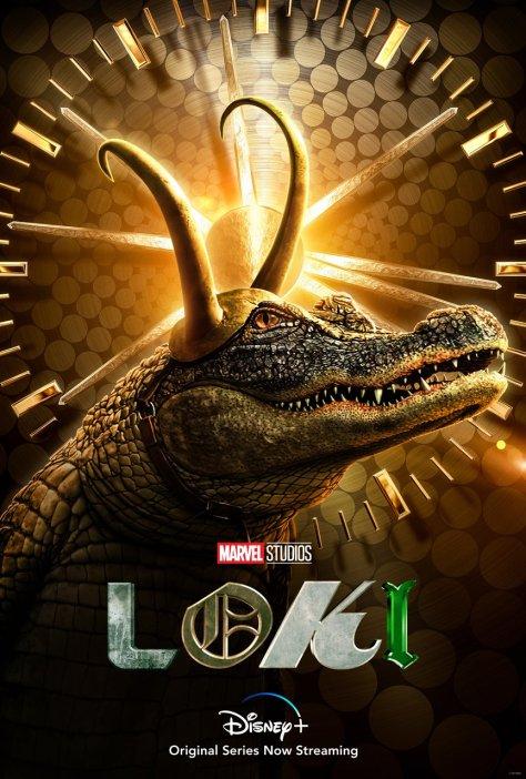 Alligator Loki Character Poster