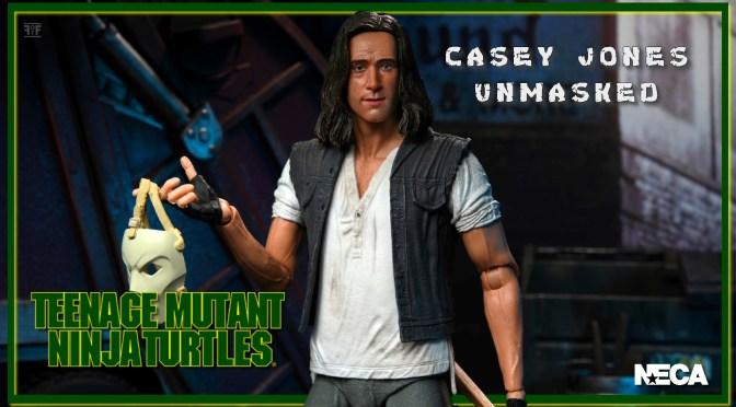 First Look | NECA ULTIMATE Casey Jones (TMNT) Unmasked