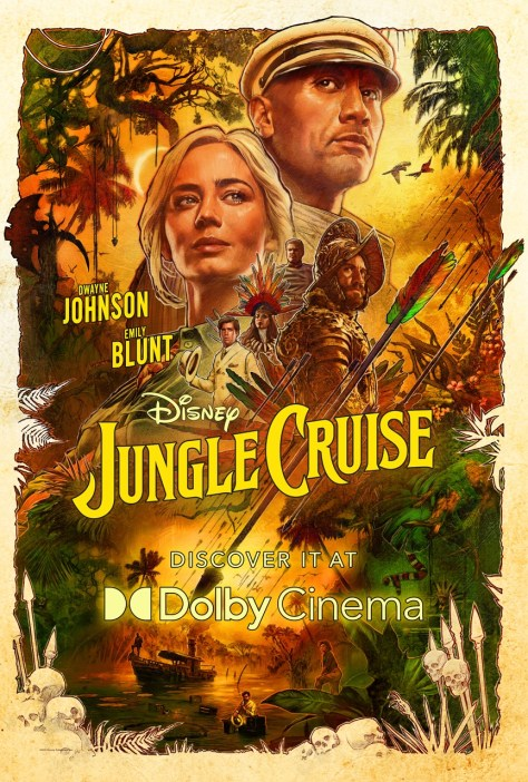 Jungle Cruise Dolby Poster