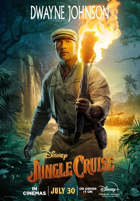 Jungle Cruise Dwayne Johnson Character Poster