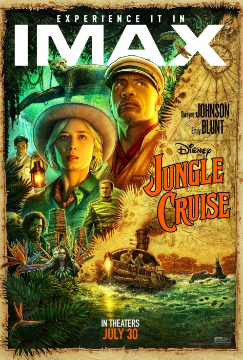 Jungle Cruise IMAX Poster