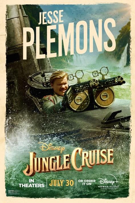 Jungle Cruise Jesse Plemons Character Poster 2