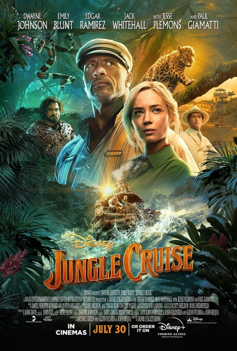 Jungle Cruise Theatrical Poster