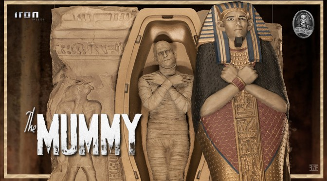 Universal Monsters | The Mummy Statue By Iron Studios