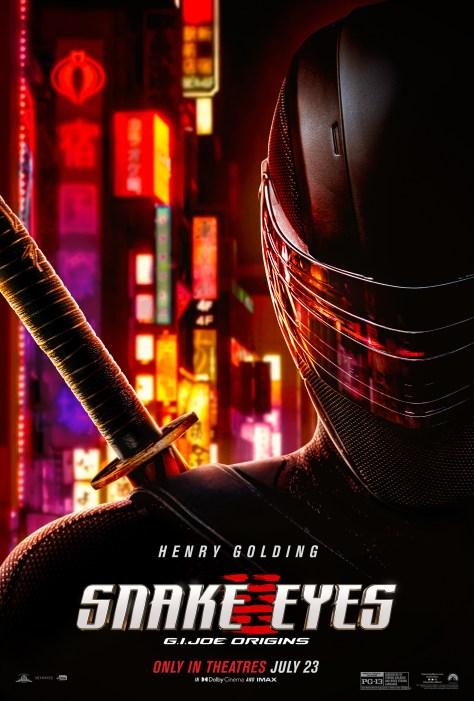 Snake Eyes Mask Teaser Poster