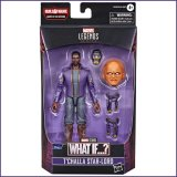 Hasbro Marvel Legends Series T'Challa Star-Lord What If Action Figure and Build-a-Figure Parts