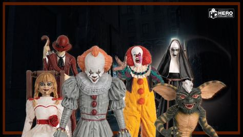 The Horror Collection 1:16 Figurines From Hero Collector