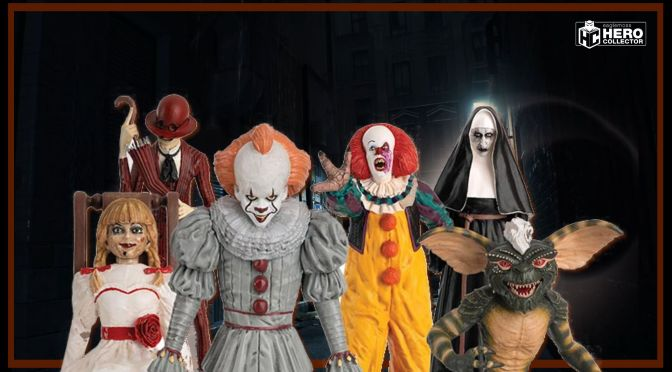 First Look | The Horror Collection 1:16 Figurines From Hero Collector