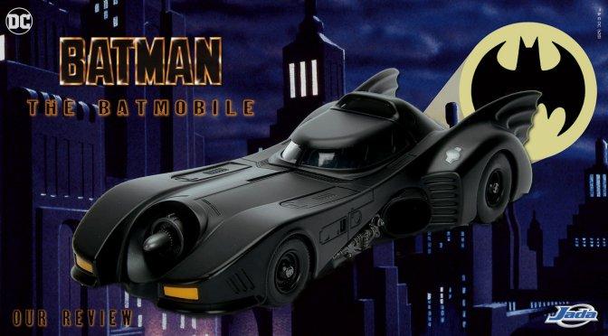Batman And The Batmobile (Batman 1989) Jada Toys