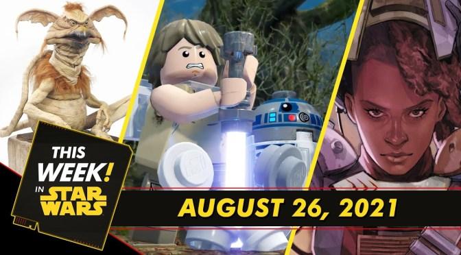 This Week In Star Wars | LEGO Star Wars: The Skywalker Saga Trailer, Tony McVey on Salacious B. Crumb, and More!