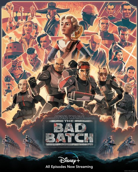 The Bad Batch Poster Guy Shield